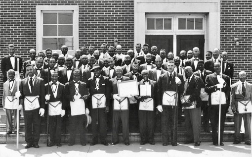 1956 St. John's Day Sunlight Lodge #33 CGW School Aud Harris was past Worshipful Master